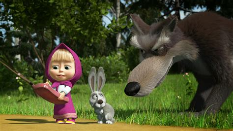 misteri film masha n the bear 10 wallpaper masha and the bear hd deloiz wallpaper