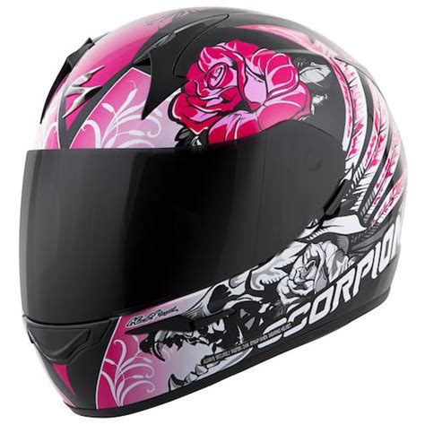 Motorradhelm Rosa by Scorpion Exo R410 Novel S Helmet Revzilla