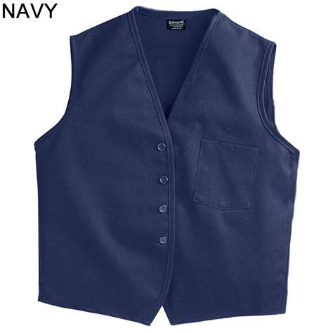 vest with pockets edwards unisex apron vest with breast pocket 4006