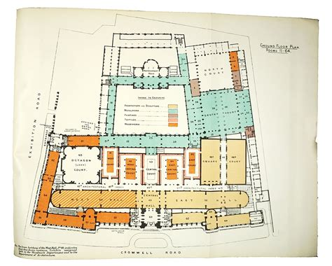 victoria and albert museum floor plan best laid plans mapping the v a by andrew mcilwraith