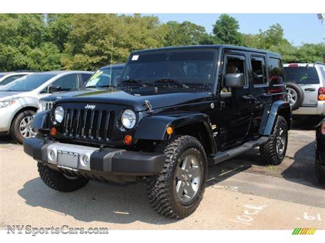 sahara jeep black 2011 jeep wrangler unlimited sahara 4x4 in black 557136