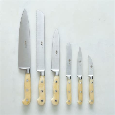 berti white handled italian kitchen knives on food52