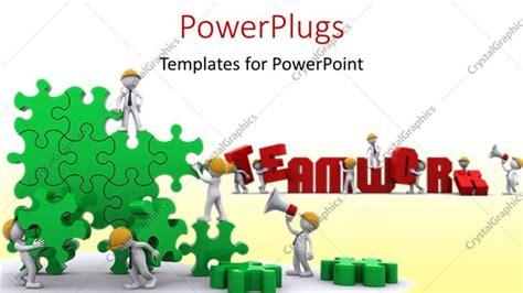 Powerpoint Template Business Team Work Building A Puzzle 29084 Building A Powerpoint Template