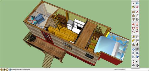 mobile tiny house the leaf house is an energy efficient tiny home built for