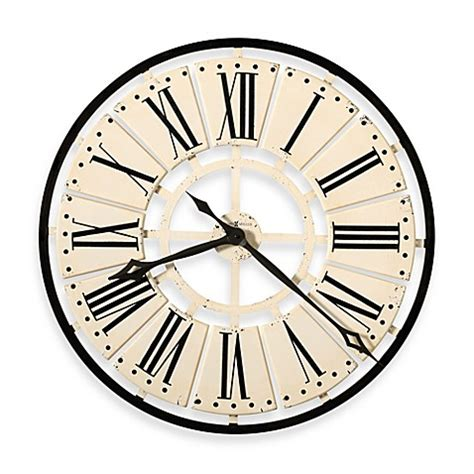 bed bath beyond clocks buy howard miller pierre gallery wall clock from bed bath