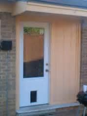 Exterior Door With Pet Door Installed Doors With Built In Pet Door Pre Installed Doors And Cat Doors