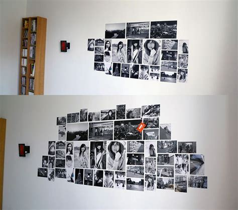 photo wall ideas without frames photo wall collage without frames 17 layout ideas photo