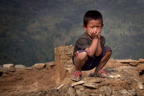 earthquake kids aid for nepalese children after the earthquake