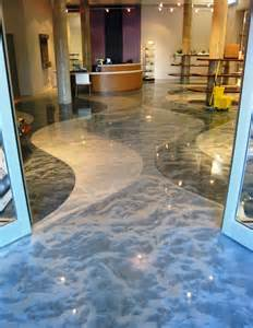 pure metallic metallic epoxy floor coating pictures