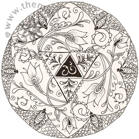 color mandala tattoo free coloring pages of mandala wolf