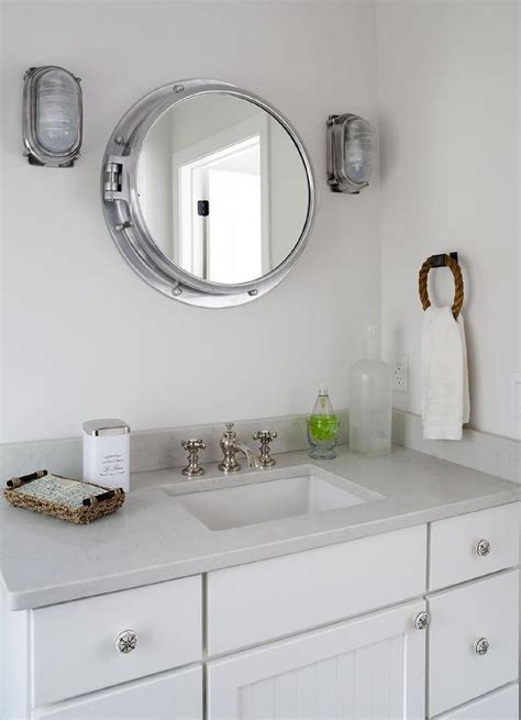 Porthole Windows Bathroom Decorating Royal Naval Porthole Mirrored Medicine Cabinet Cottage Bathroom