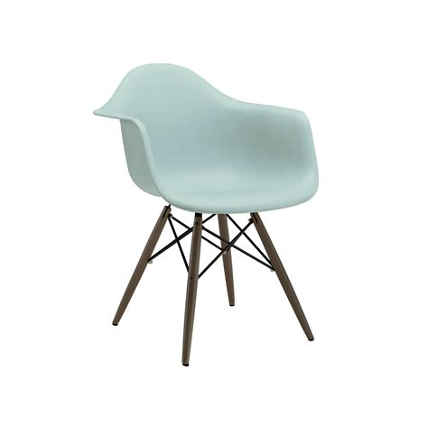 Eames Eiffel Surfing Turquoise Arm Chair Tablebasedepot