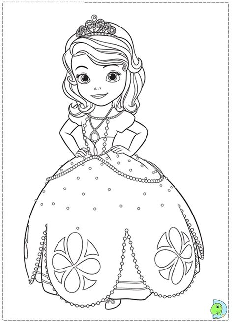 sofia the first coloring coloring pages