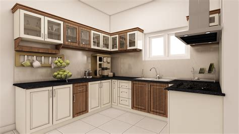 best interior designing modular kitchen cabinets in kerala