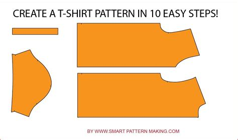 pattern making how to make a t shirt pattern in 10 easy