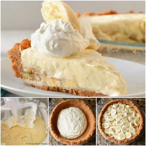 wonderful diy no bake banana caramel cream dessert