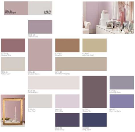 Home Interior Color Palettes | modern interior paint colors and home decorating color