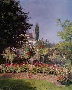 flowering garden at sainte adresse 171 reproduction
