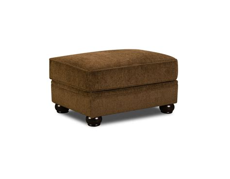 upholstery victoria simmons victoria rectangular ottoman in chocolate shop