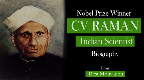 scientist biography in hindi nobel prize winner c v raman biography in english bigwigo