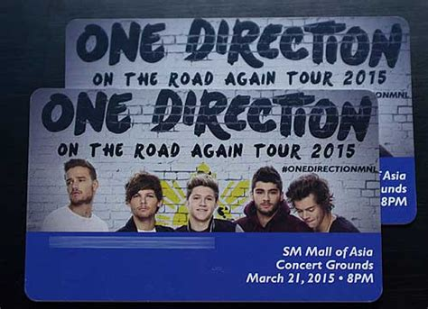 One Direction Giveaway Tickets - win tickets to watch one direction live in manila philippine contests and promos