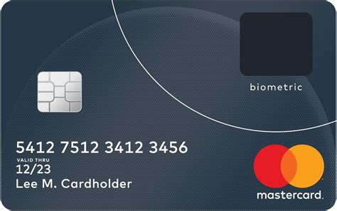 Credit Card Scan Template Mastercard Introduces A Credit Card With A Built In Fingerprint Reader Android Central