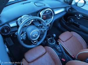 Mini Cooper Brown Interior 2016 Mini Cooper S Convertible Review Top Time