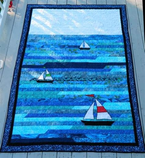 Sailing Quilt by Boat Quilt Fabric Sailboat Quilt 2 Sailboat Two Jpg