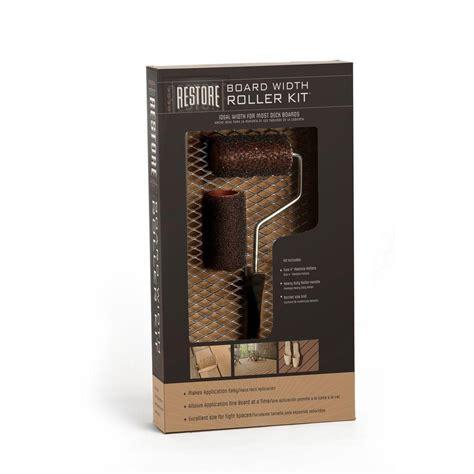 home depot paint roller kit rust oleum restore 4 in roller kit 4 shop your