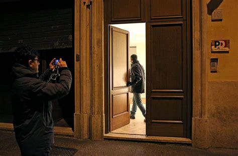sede pd a roma renzi la prima segreteria alle 7 mattino