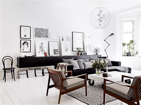living room decor black and white decordots inspiring interiors