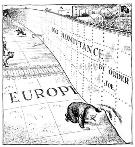 definition iron curtain de koude oorlog 3 politieke thema s verbeeld in cartoons