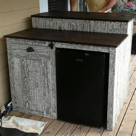 bar cabinet with sink and fridge custom outdoor bar with mini fridge storage cabinet and