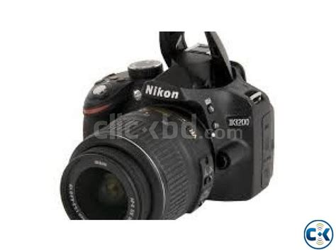 nikon digital slr d3200 24 2mp 1080p hd 18 55lens clickbd