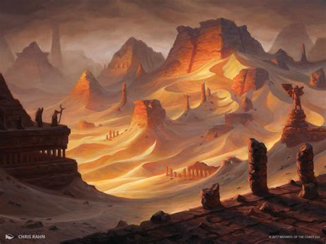 1421595117 the art of magic the the art of magic the gathering amonkhet city book review
