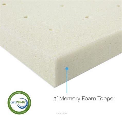 3 Inch Memory Foam Mattress 3 Inch Mattress Topper An Layer Of Comfort