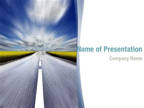 road powerpoint templates road powerpoint backgrounds