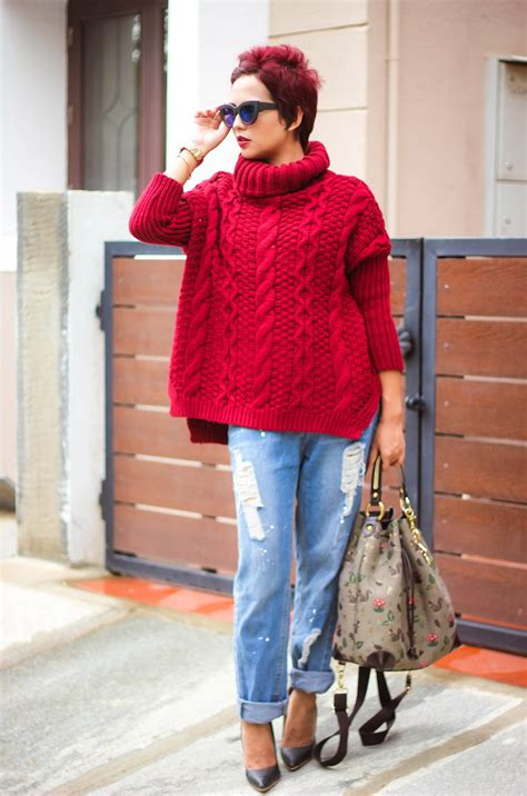 what to wear to sweater 32 chic ways to wear your knitted sweater 2018