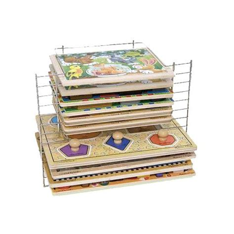And Doug Wire Puzzle Rack by Doug Deluxe Wire Puzzle Rack Puzzles