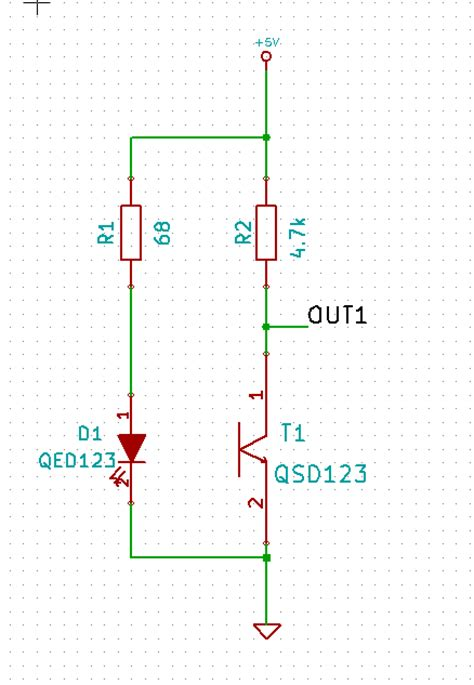 transistor vce transistors got a low vce on a infrared phototransistor electrical engineering stack