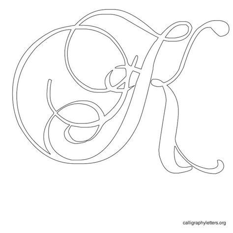 printable calligraphy letters printable letters script letter k letter j http