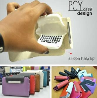 Silicon Bb 9790 Bellagio book wallet silicon halfkeypad grosir aksesoris hp