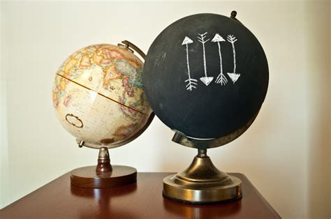 chalkboard paint globe 25 creative diy chalkboard projects upcycled treasures