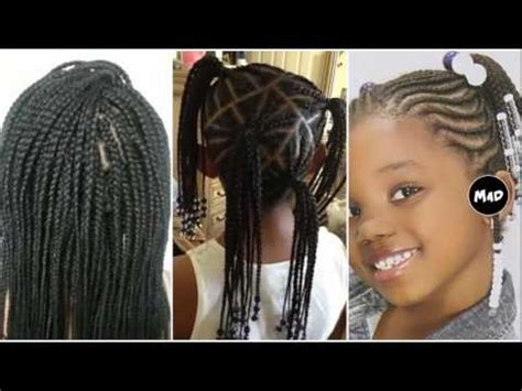 9 Year Old Little Girl Hair Braided Witb Weave | little girl hairstyles braids hairstyles for 9 year old
