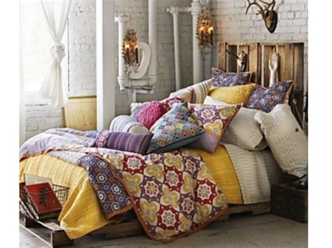 home design bedding superb concept for mesmerizing bohemian style bedroom with