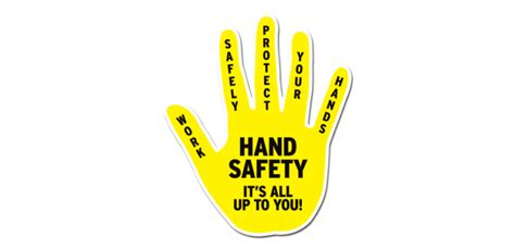Hand Injury Prevention Safety Talk Best Hand 2017 Drip Caign Template