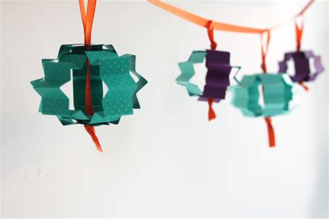 Paper Craft Lanterns - paper lanterns craft hello holy days