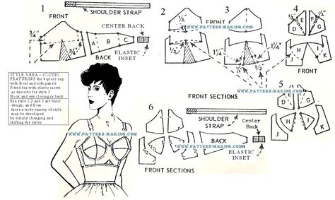 pattern making how to tutorial how to draft a bra style 2 sewing patterns