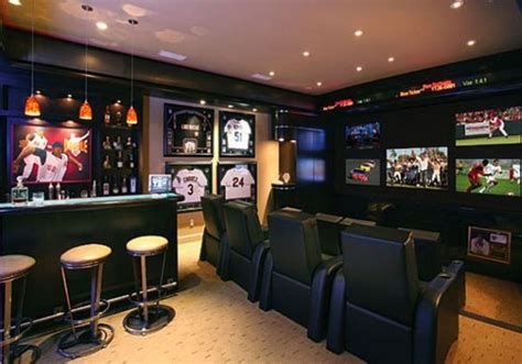 themed basement bar designs