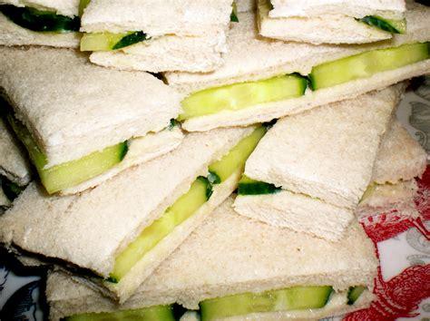 cucumber sandwiches iii recipe dishmaps